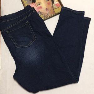Torrid 22R Dark Wash Skinny Jeans